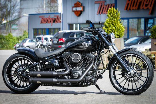 Thunderbike Naked Slim • H-D Softail Slim FLS Custom Motorcycle
