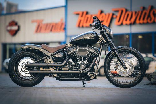 Thunderbike Street Digger • H-D Street Bob FXBB Custom Softail