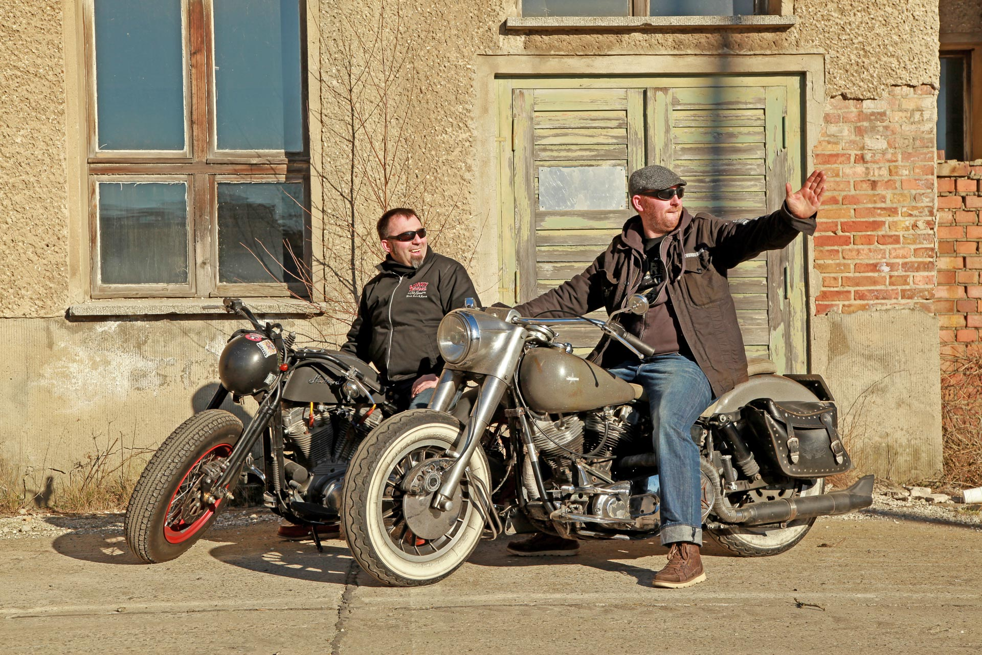 Thunderbike Hoss Power • Custombike & Harley-Davidson Gallery