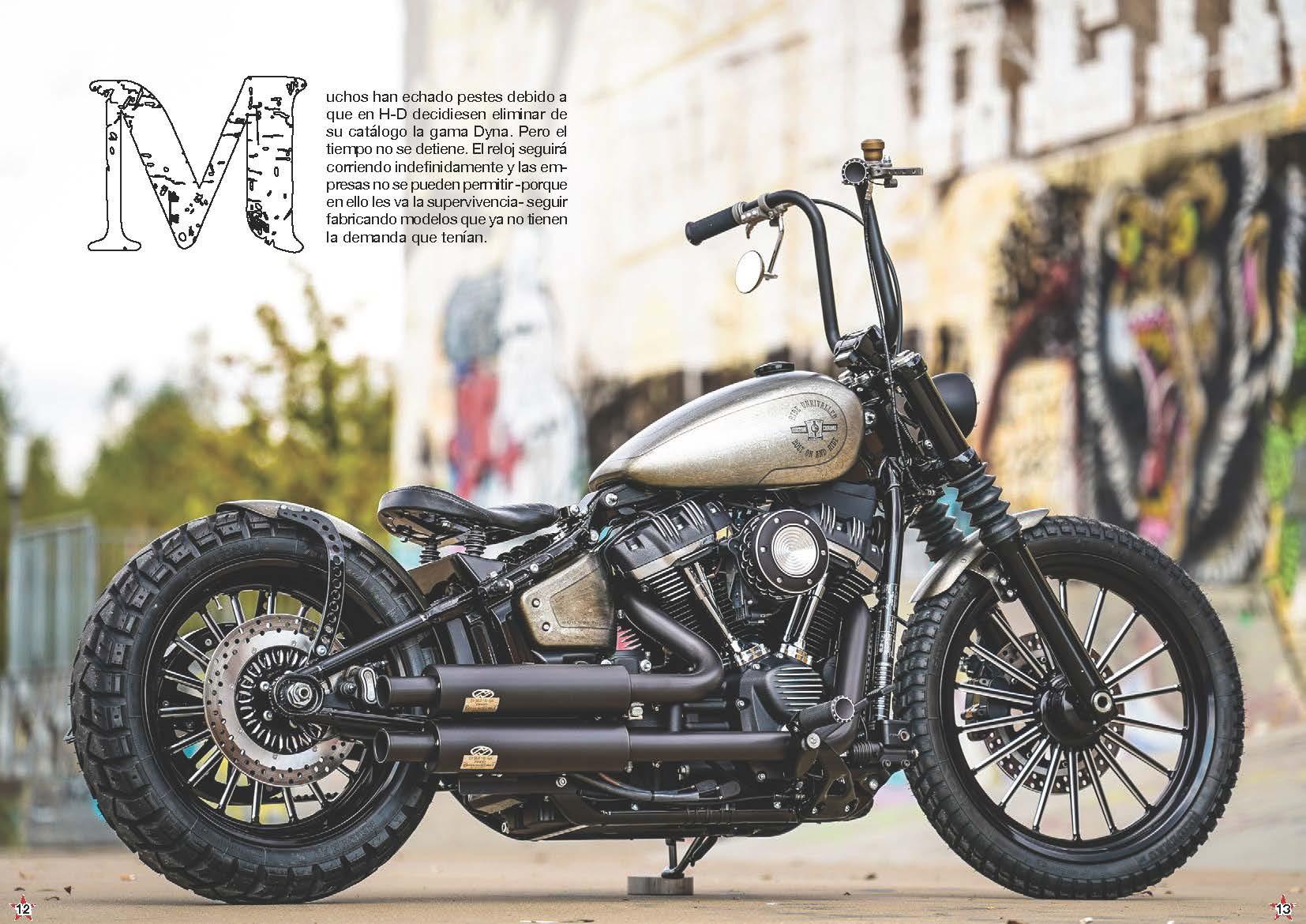 Thunderbike CCE Cross Bob • H-D Street Bob FXBB Custom