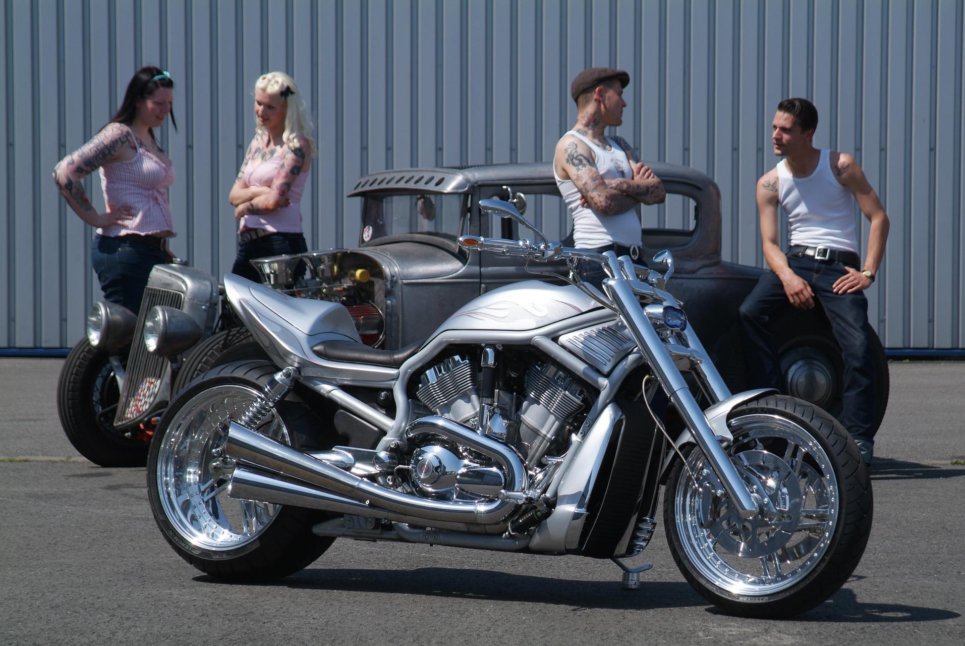 Hot Rod Harley >> Thunderbike Hot Rod Custombike Harley Davidson Gallery