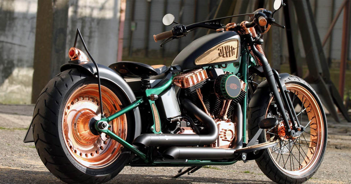 Bobber Custom Motorcycles By Thunderbike