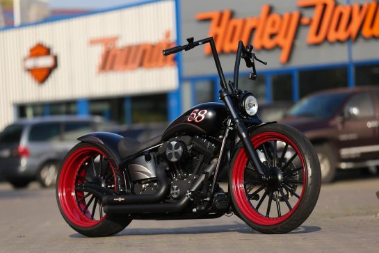Harley Night Train >> Customized Harley Davidson Softail Night Train Motorcycles By