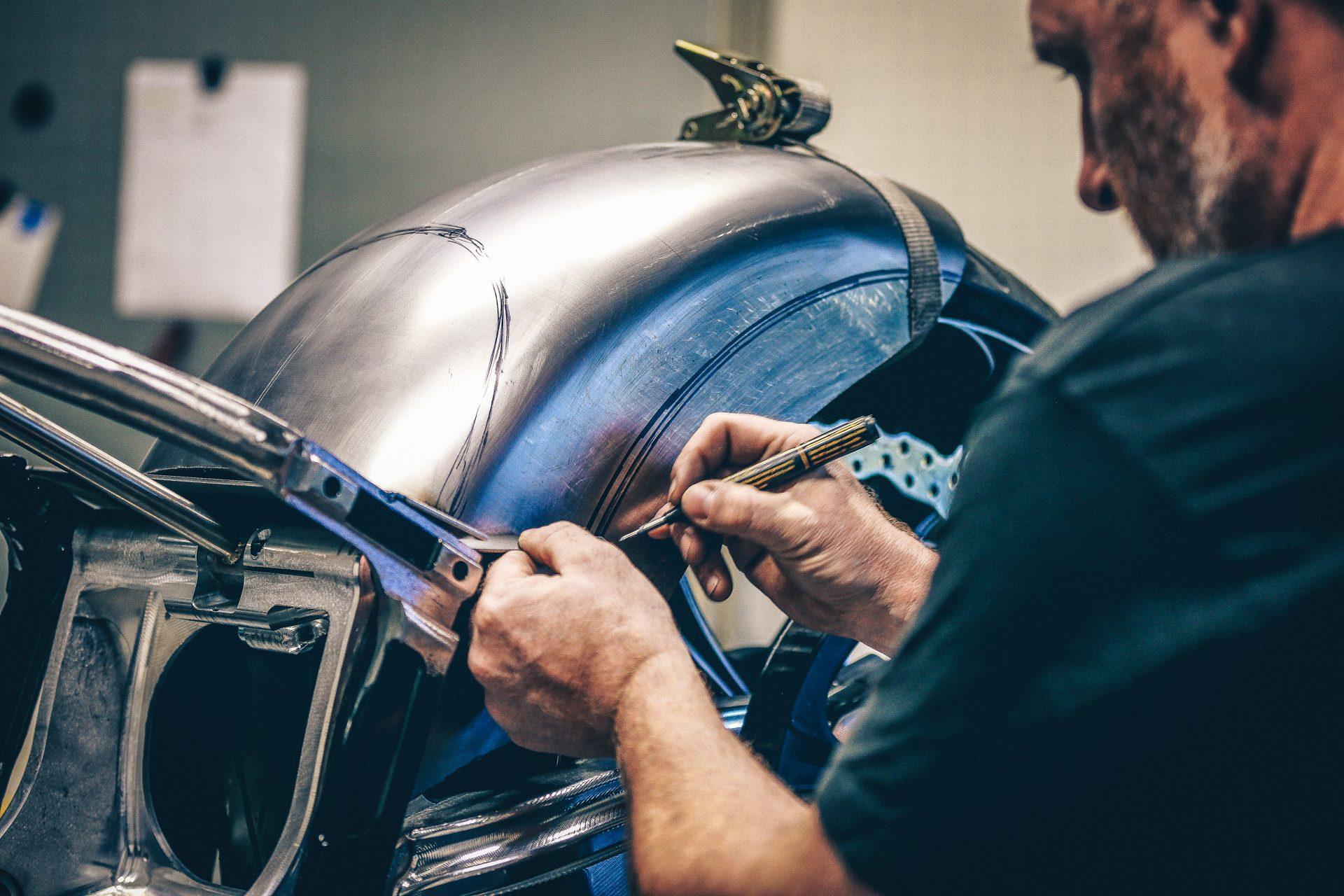 Thunderbike Custom Rear Fenders for Harley-Davidson & metric