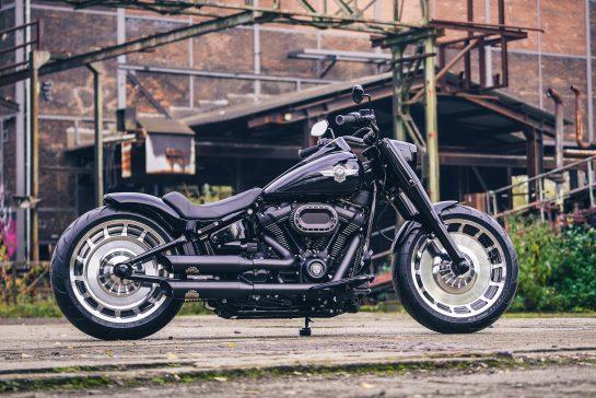 Customized Harley Davidson Fat Boy Motorcycles By Thunderbike