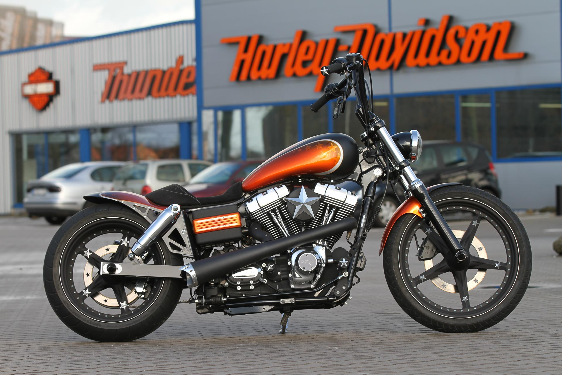 Thunderbike Not For Sale H D Street Bob Fxdb Custom
