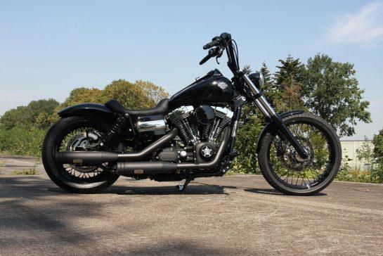 Customized Harley Davidson Dyna Models By Thunderbike