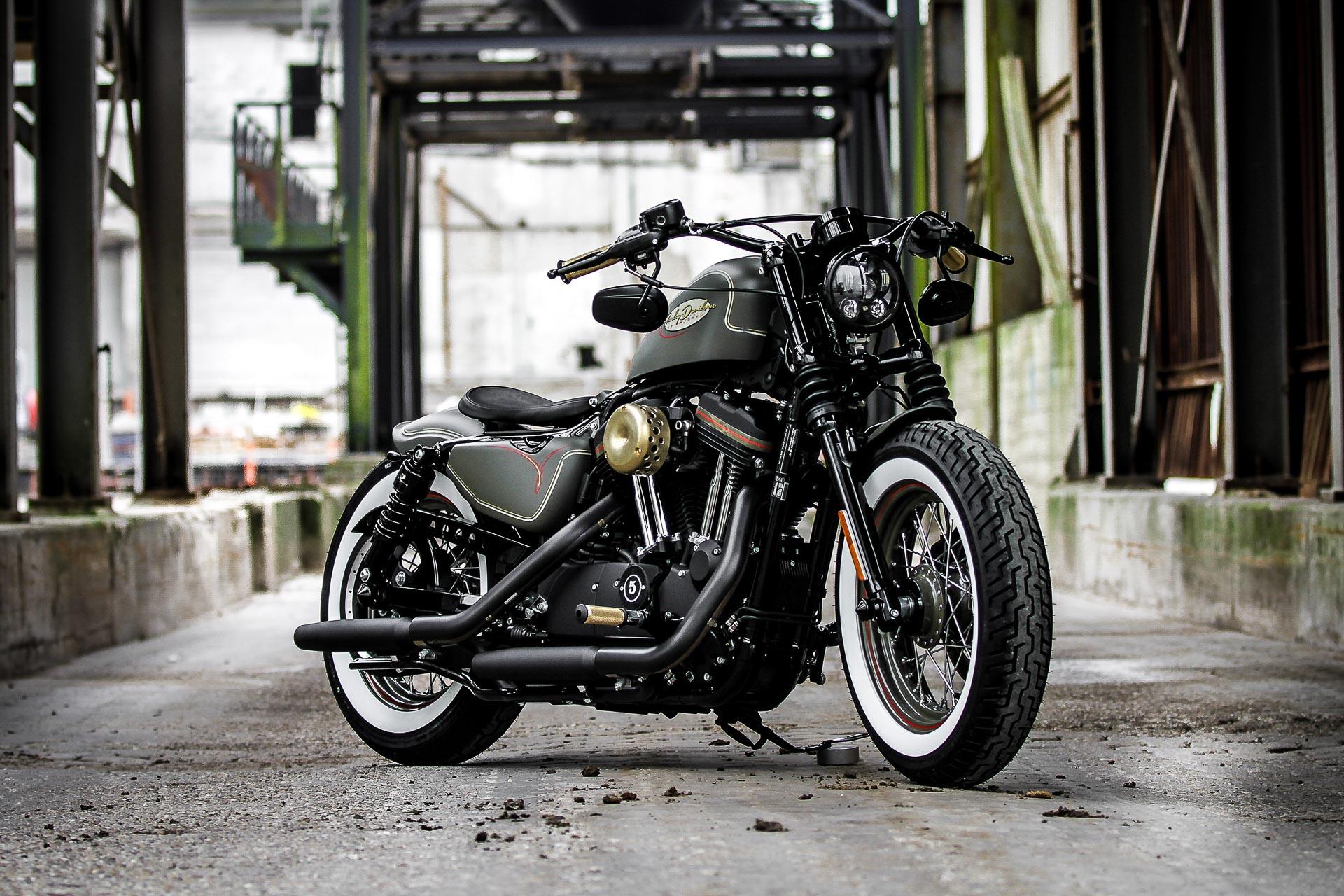 Custom Harley Davidson >> Thunderbike Forester • H-D Forty-Eight Sportster XL1200X ...