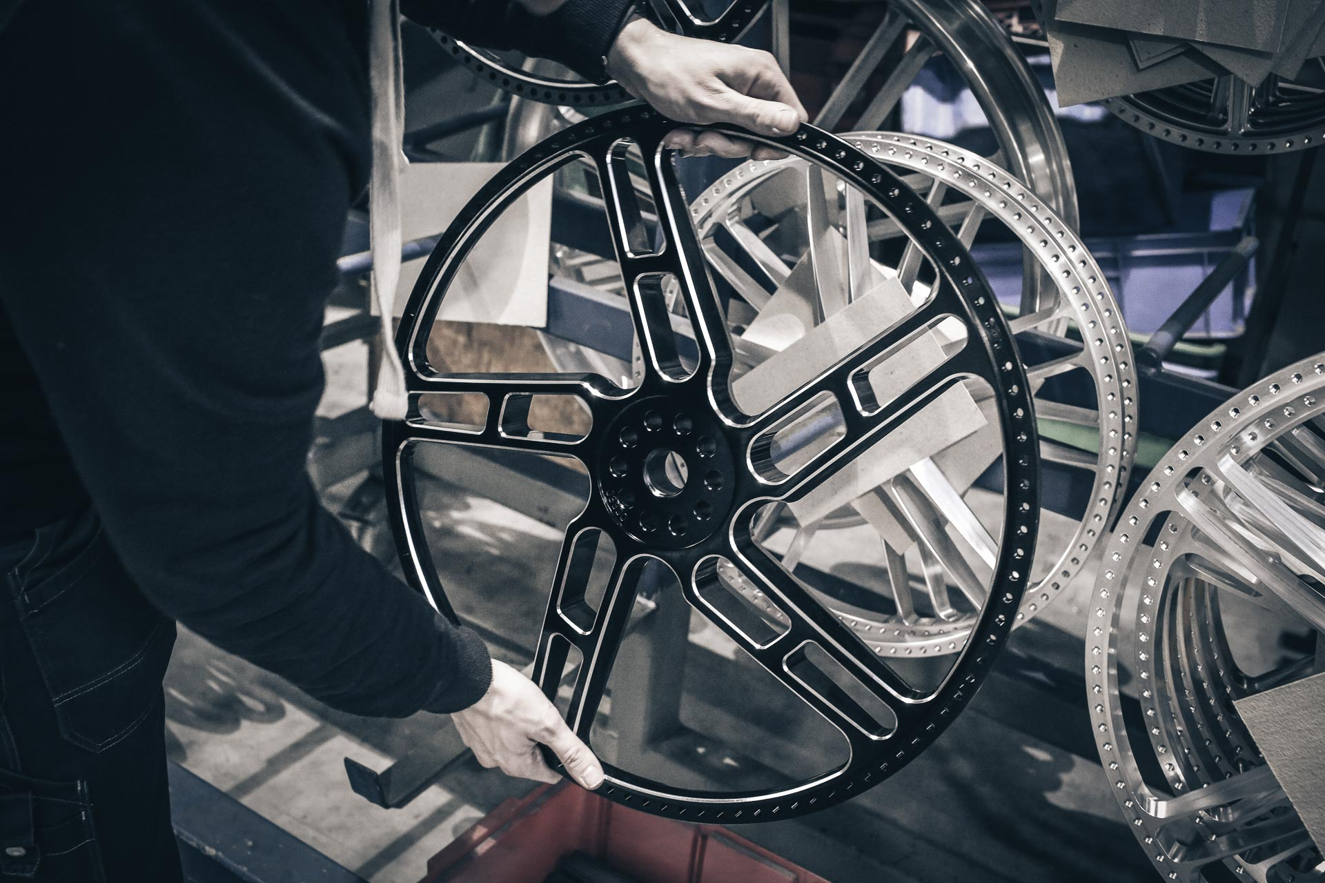 Thunderbike Black Apple • H D Fat Boy FLFBS Custom Motorcycle
