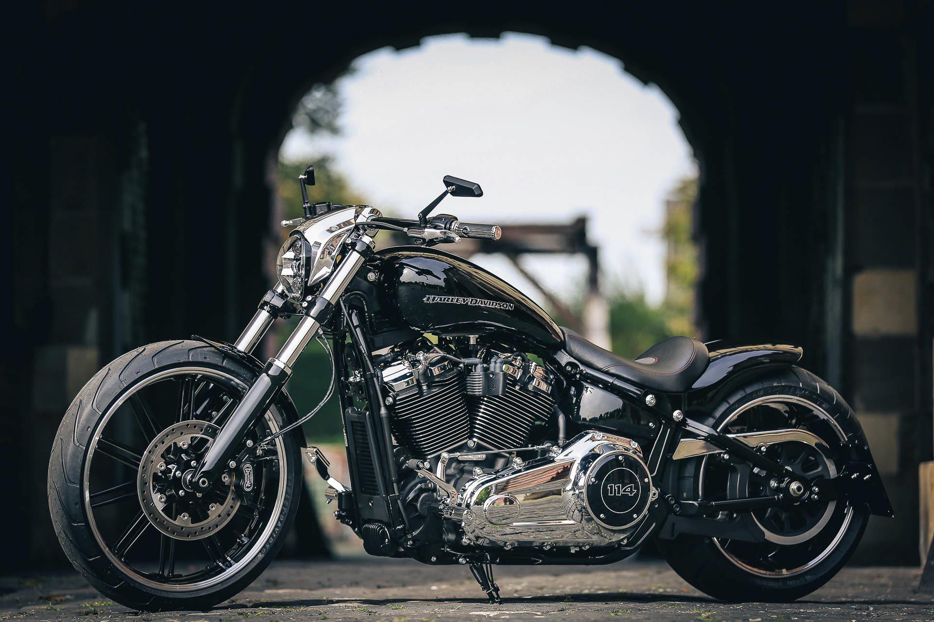 Thunderbike Chromehead H D Fxbrs Breakout Custom