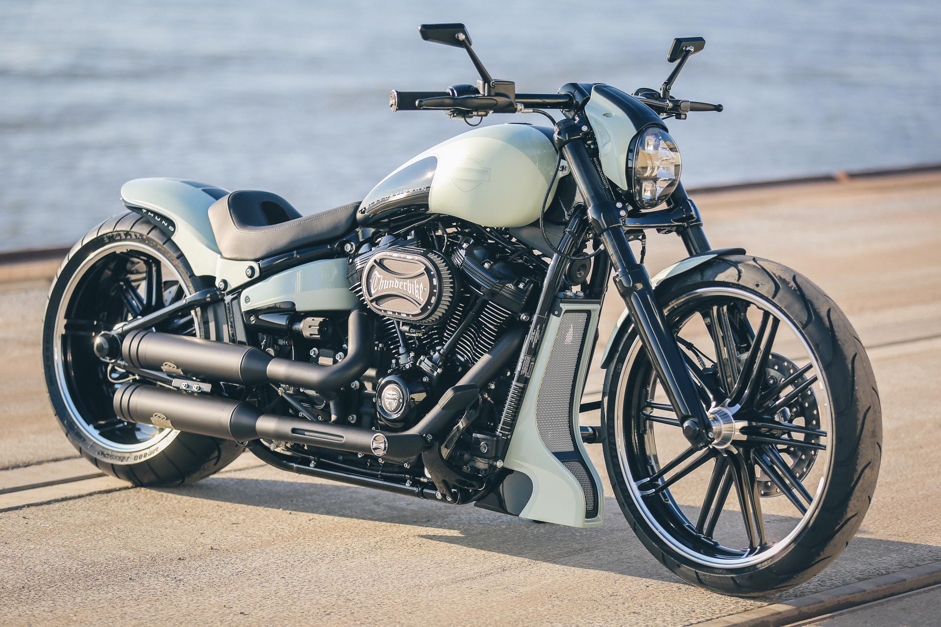 Thunderbike Mintos H D Fxbrs Softail Breakout Custom