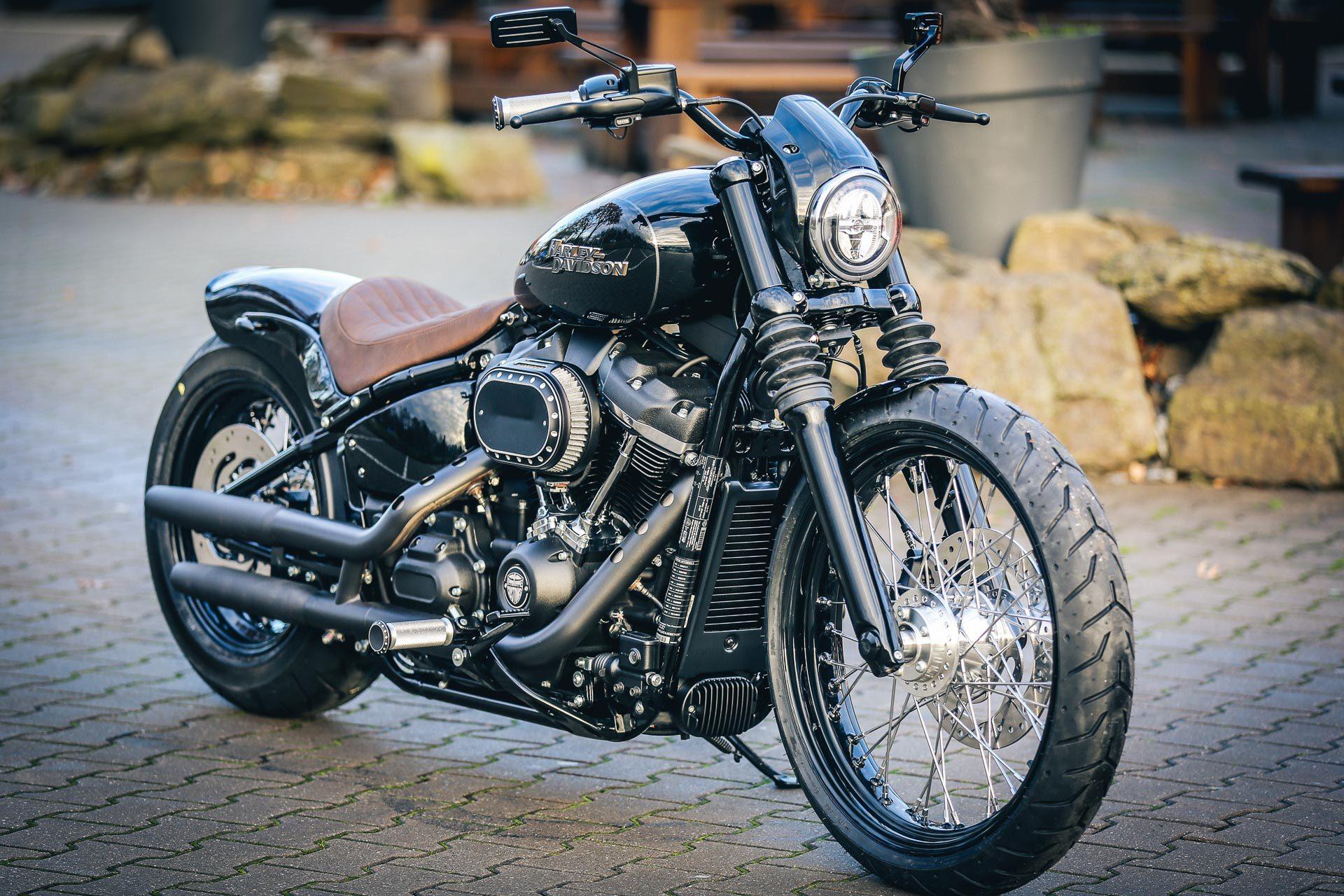 Thunderbike Shorty H D Street Bob Fxbb Custom Motorcycle
