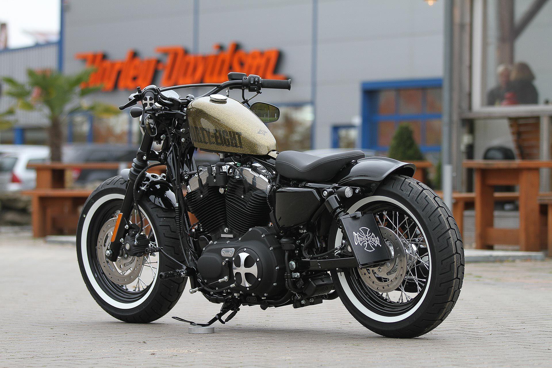 Thunderbike Bobber H D Forty Eight Sportster Xl1200x Custombike