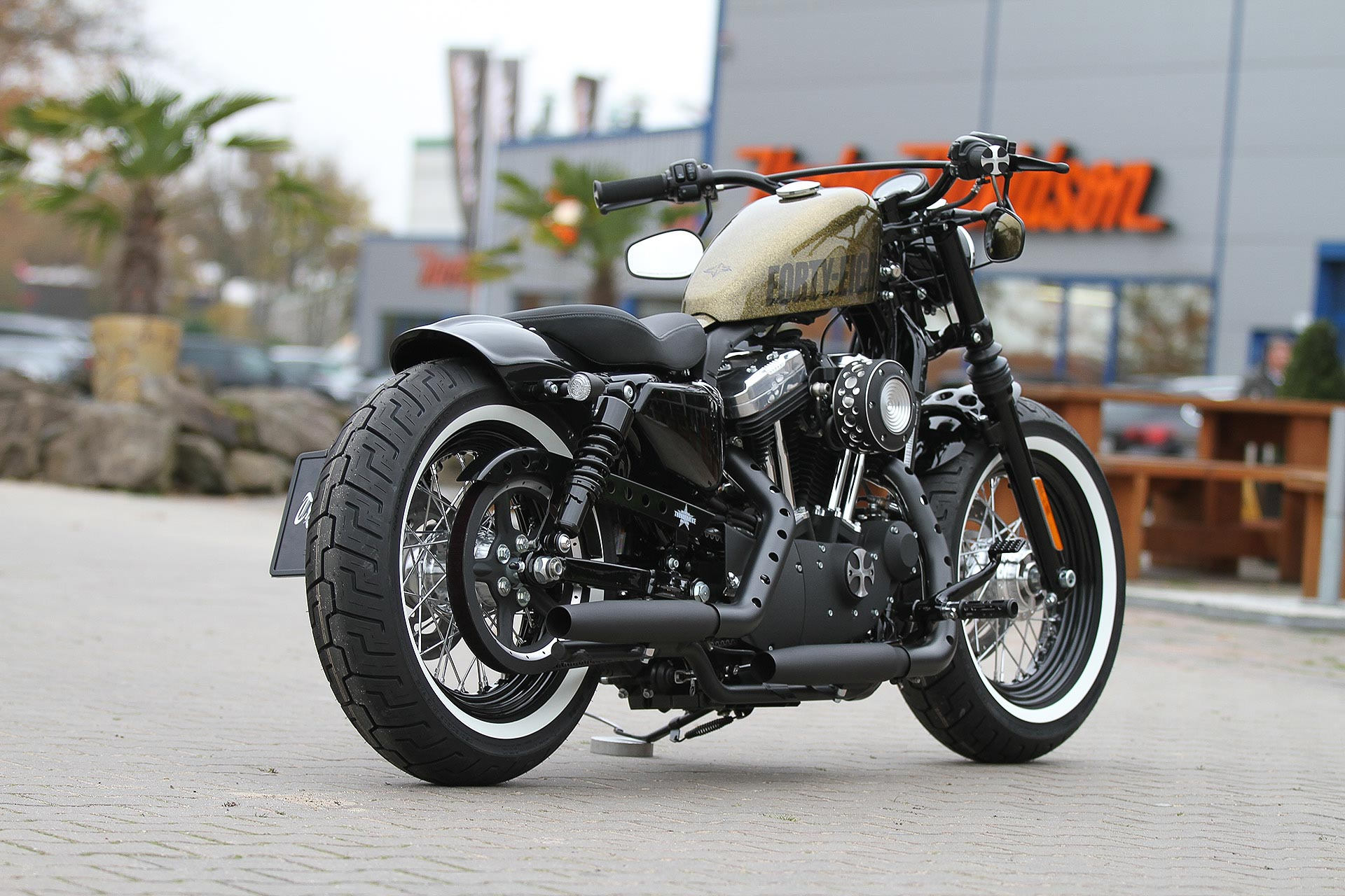 Thunderbike Bobber H D Forty Eight Sportster Xl1200x Custombike