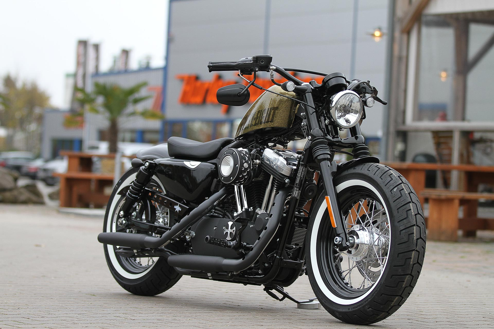 Thunderbike Bobber H D Forty Eight Sportster Xl1200x