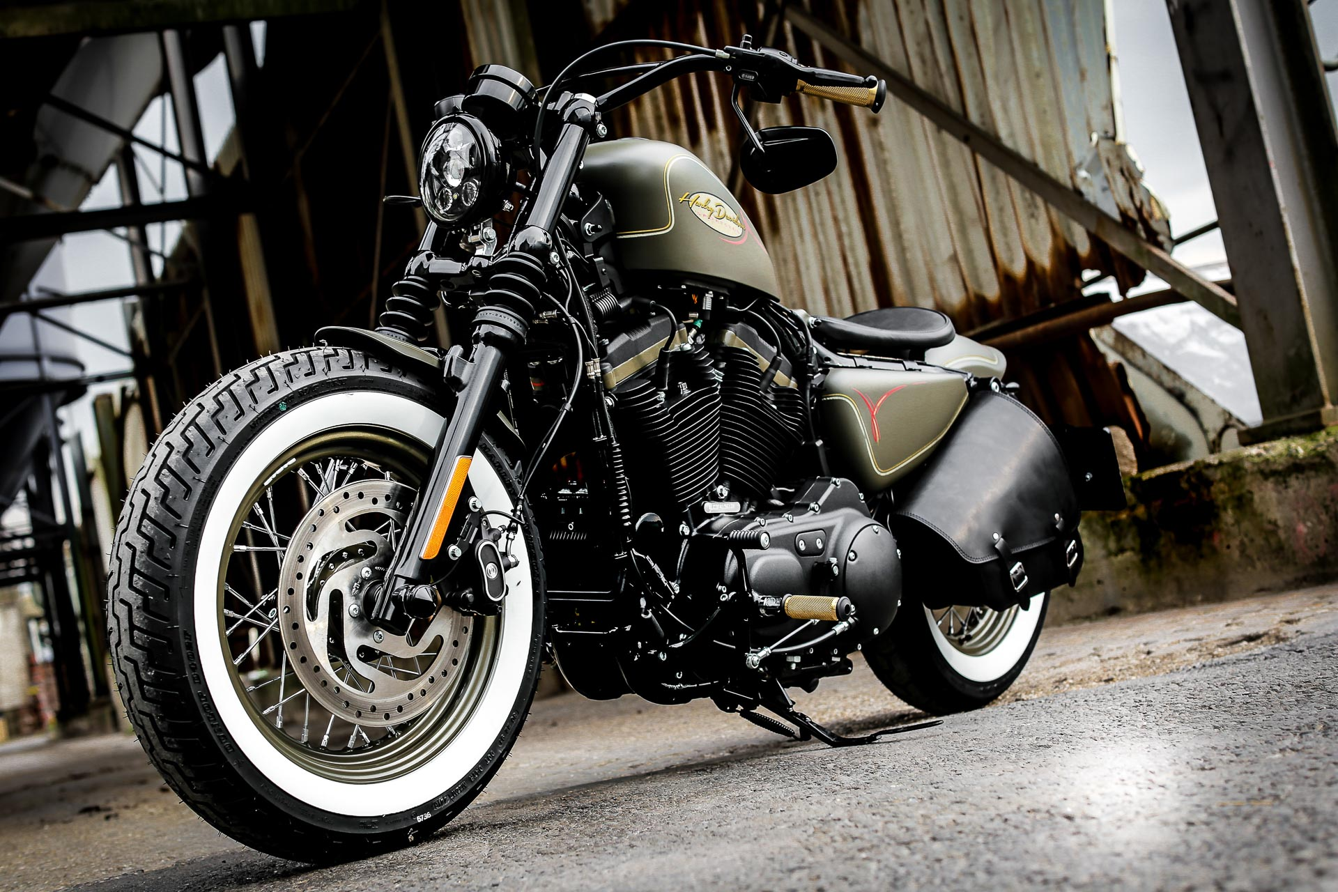 Thunderbike Forester H D Forty Eight Sportster Xl1200x