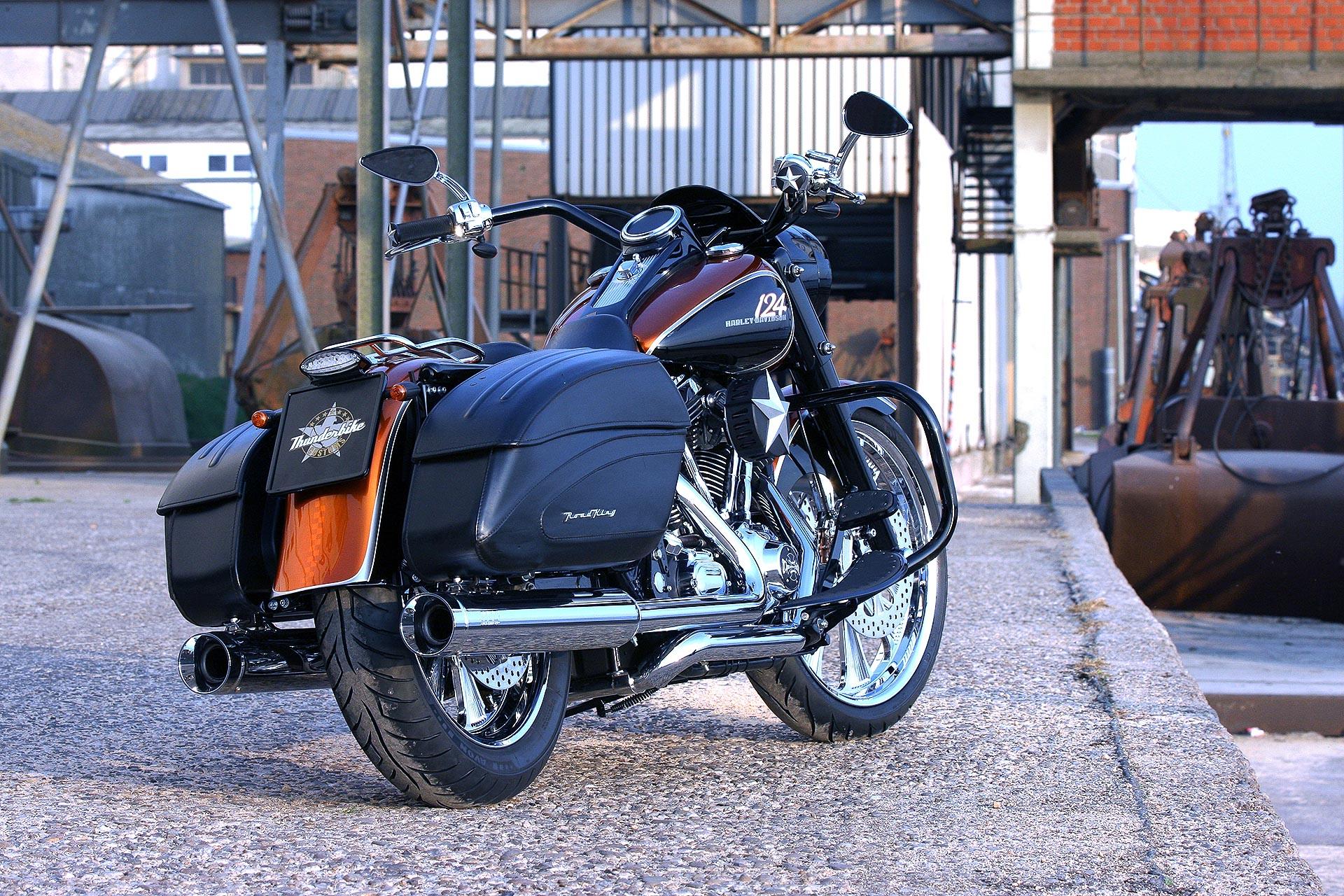 Thunderbike Cce Bagger 124 Ss H D Road King Flhr Custom Bagger