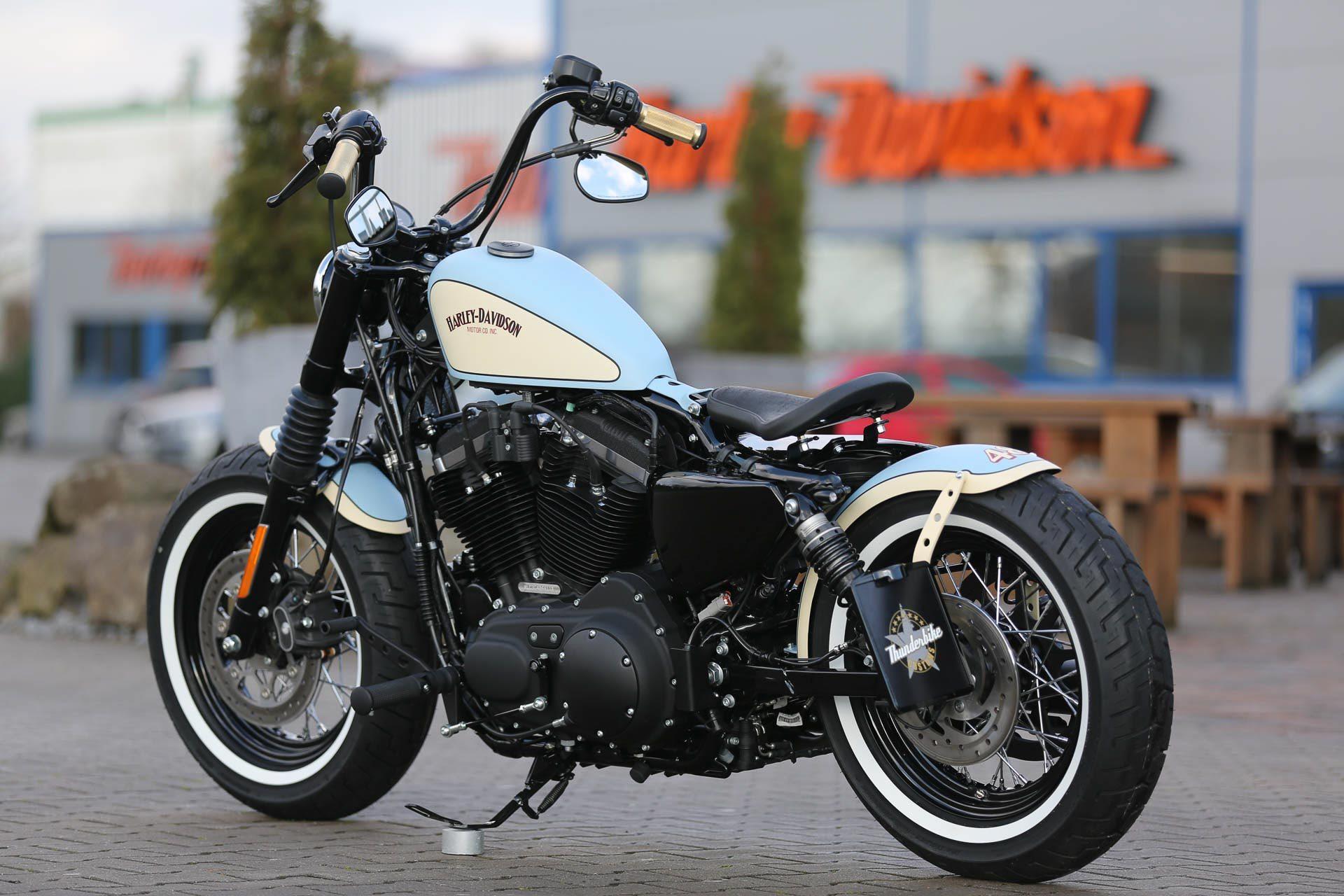 Thunderbike Luckyblue Custombike Harley Davidson Gallery