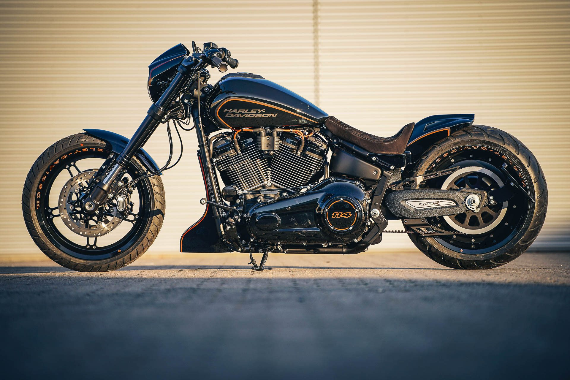 Thunderbike Destruction • First H-D FXDR 114 Custombike