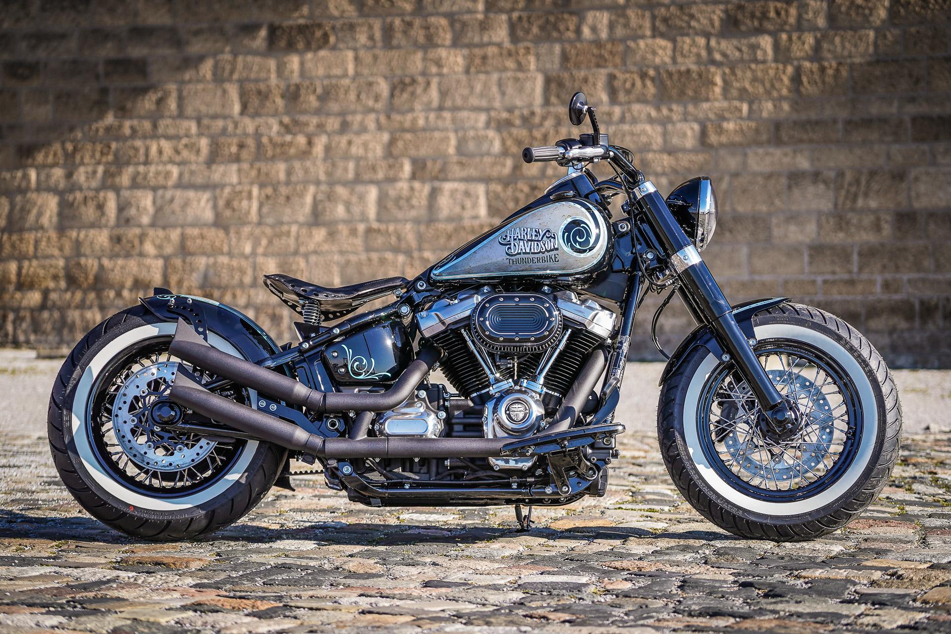 Used Harley Davidson Wheels >> Thunderbike Flying Joe • Custombike & Harley-Davidson Gallery