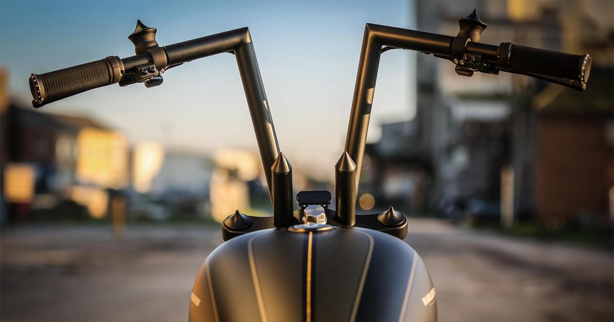 Motorcycle Handlebars for H-D & metric by Thunderbike Customs