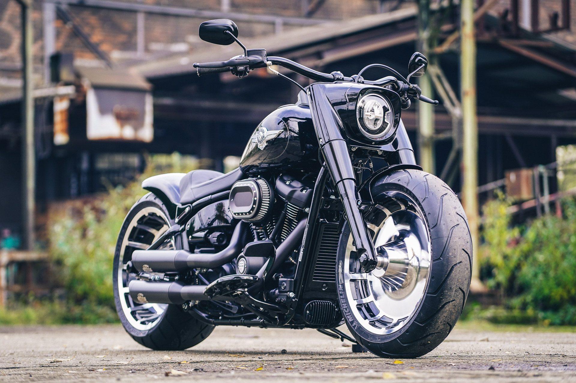 Thunderbike Black Bull • Harley Davidson Fat Boy Custom ...
