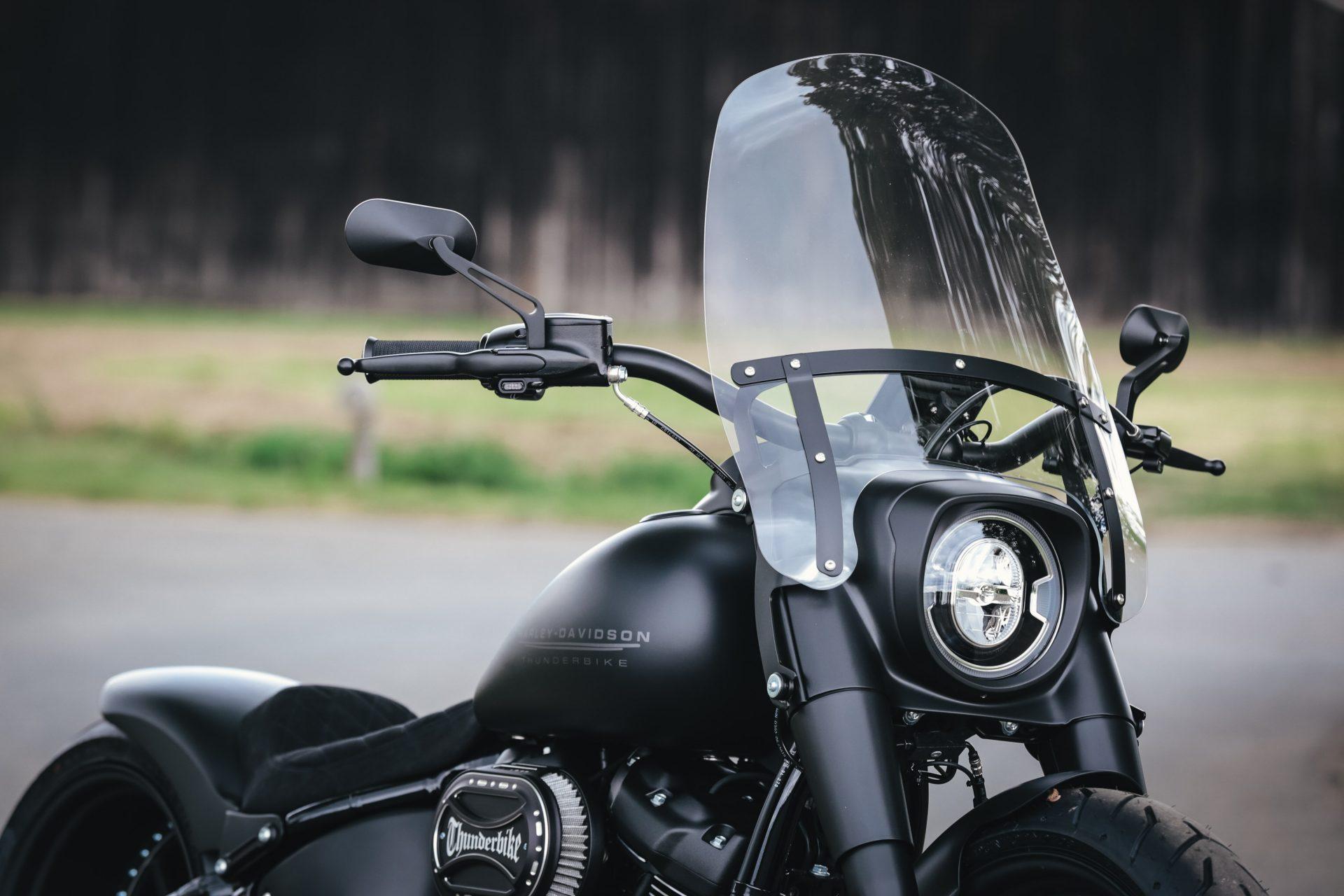Thunderbike Matt Dude • customized Harley Davidson Fat Boy ...