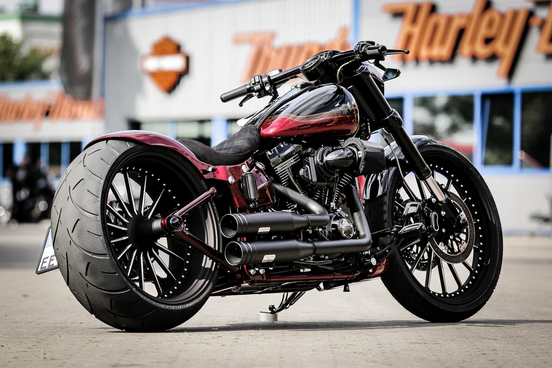 Harley Breakout Cvo >> Thunderbike Nobleout • H-D FXSE Breakout CVO Custom Motorcycle